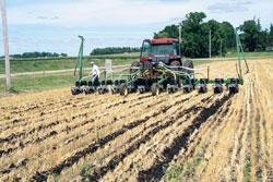 Tillage Demo at Kramer Farm
