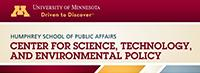 Logo for the Center for Science, Technology, and Environmental Policy
